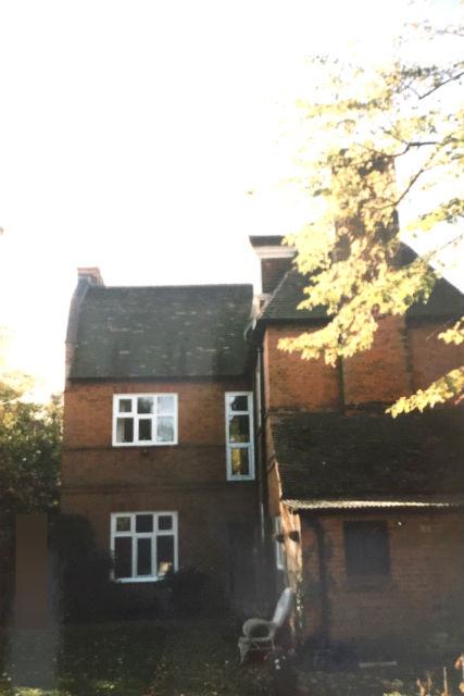 イギリス・ケンブリッジホームステイの庭