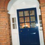 イギリス留学先での神父様宅ドア