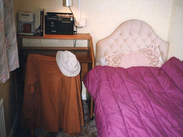 イギリスホームステイ先の部屋