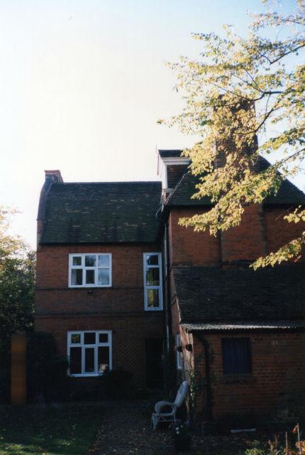 イギリスケンブリッジでホームステイしてた家の裏側