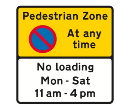イギリスの交通標識