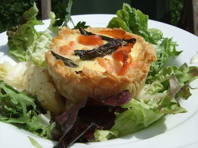 イギリスケンブリッジオチャードティールームの食事