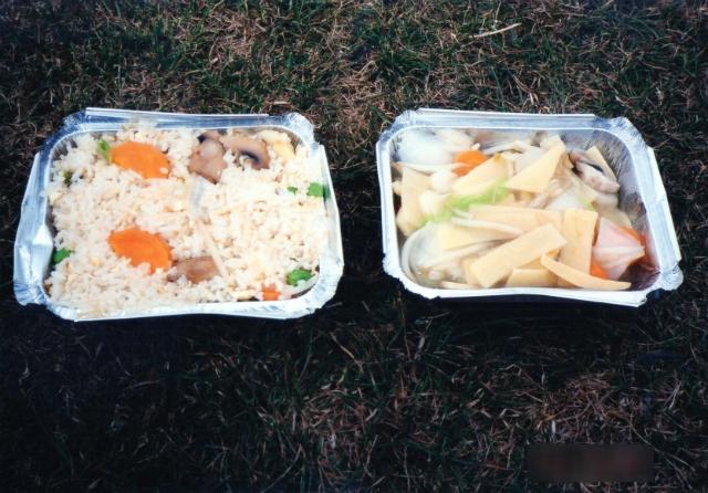 イギリスケンブリッジ中華料理のテイクアウェイ