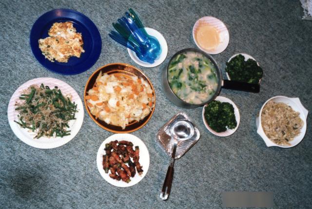 イギリス留学中に作った中華料理