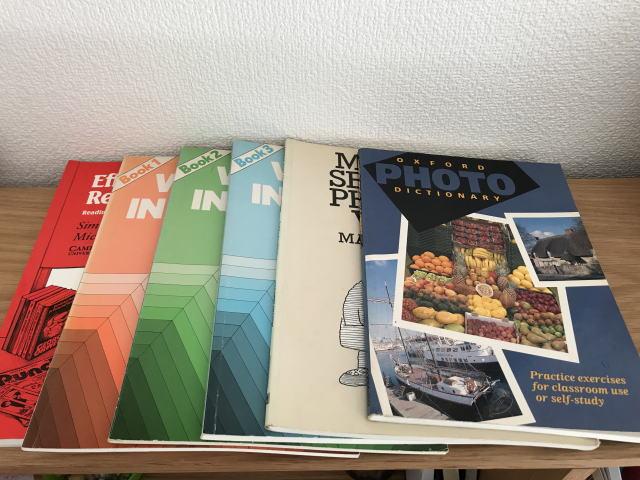 イギリスで購入した英語のワークブック