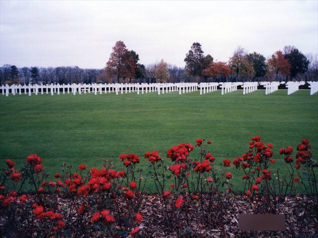 Cambridge American Cemetery (ケンブリッジアメリカンセメタリー)