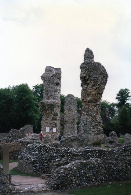 サフォーク・ベリーセントエドマンズ(Bury St Edmunds Abbey)遺跡