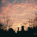 ケンブリッジ11月中旬の夜明け