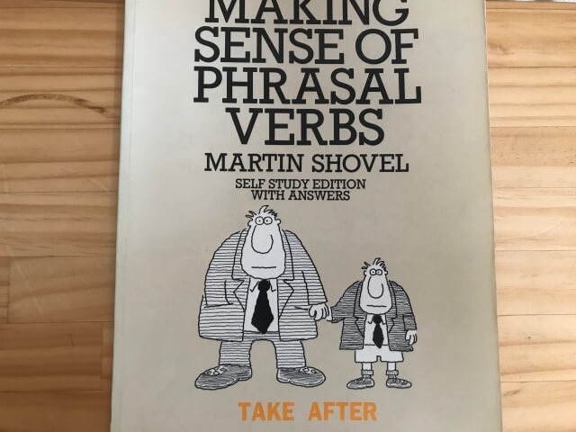 making sense of phrasal verbs / Martin Shovel の表紙