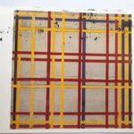 Piet Mondrian : New York City 2, 1942-44  絵葉書