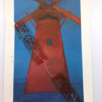 Piet Mondrian : Red Windmill, 1910/11  絵葉書