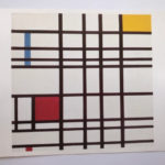 Piet Mondrian : Composition with Red,Yellow and Blue, 1937-42 絵葉書