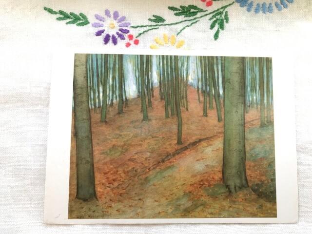 Piet Mondrian. Wood, 1898/1900 絵葉書