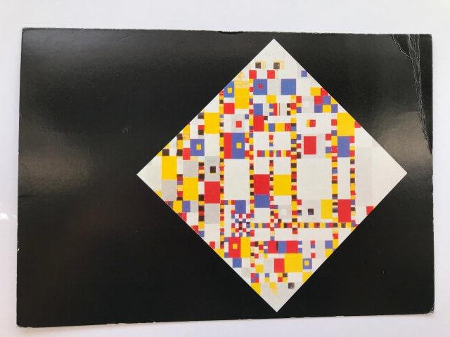 Piet Mondrian : Victory Boogie Woogie, 1943-44