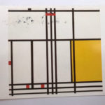 Piet Mondrian : Composition with Black, White, Yellow and Red. 1939 <絵葉書>