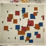 Piet Mondrian : Composition in Colour A, 1917 絵葉書
